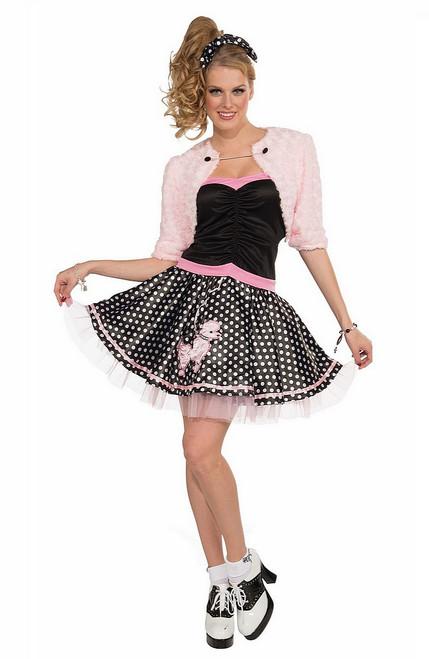 Costume de luxe des années 50 jupe caniche