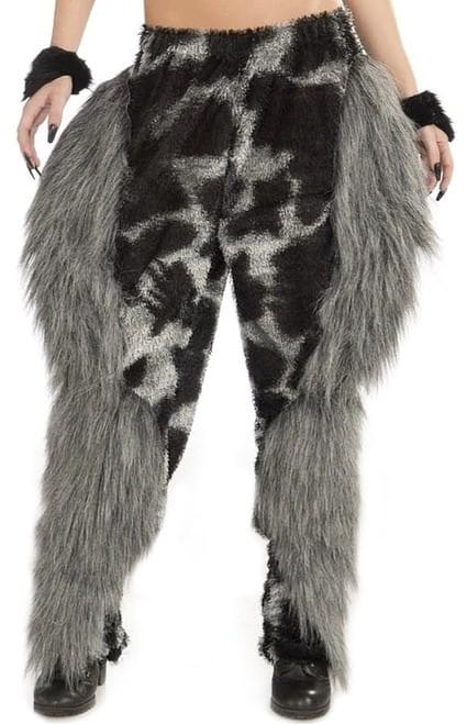 Pantalon de Monstre à Fourrure pour Femme
