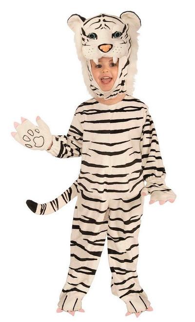 Costume du tigre blanc pour enfant