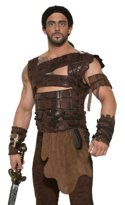 Armure médiévale en faux cuir