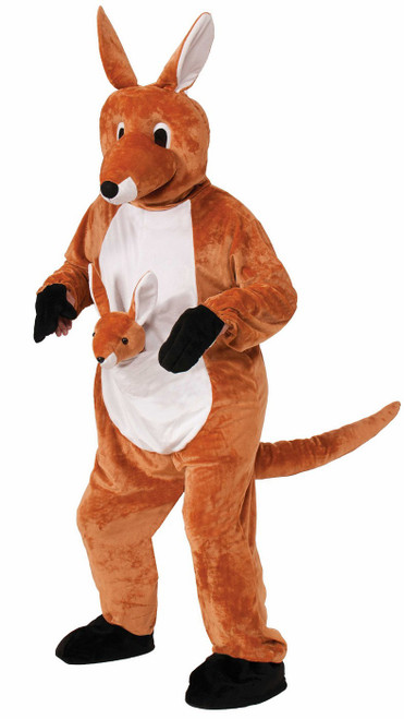Costume de mascotte Saute Kangourou