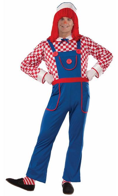 Costume de poupée en chiffon pour Homme