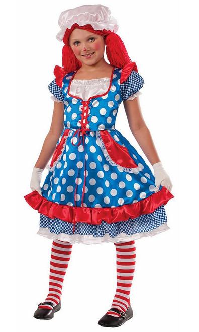 Costume de la Poupée de Chiffon pour Fille