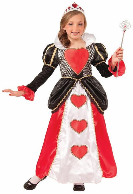 Costume de la Délicieuse Reine des Coeurs pour Enfant
