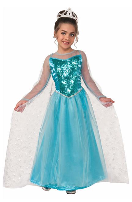Costume Frozen de La princesse Elsa