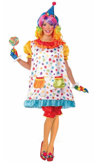 Costume de la Clown Chatouilleuse pour Femme