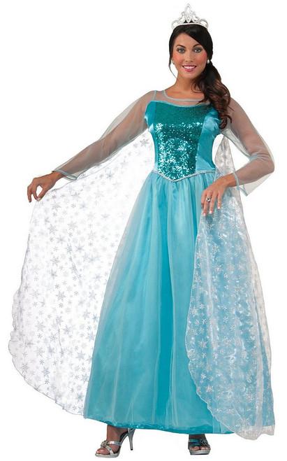 Deguisement Frozen Elsa cristal verser adulte