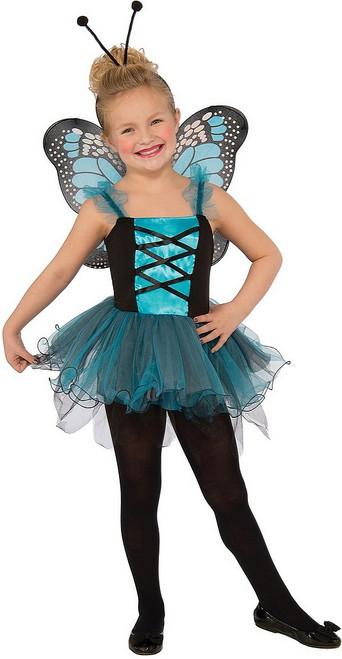 Costume du Magnifique Papillon Bleu pour Enfant