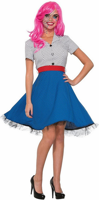 Costume Pop Art de Mme Dottie