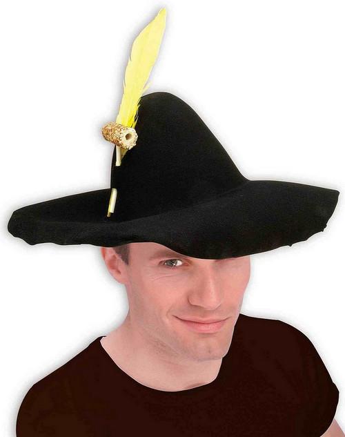 Noir Hillbilly Hat