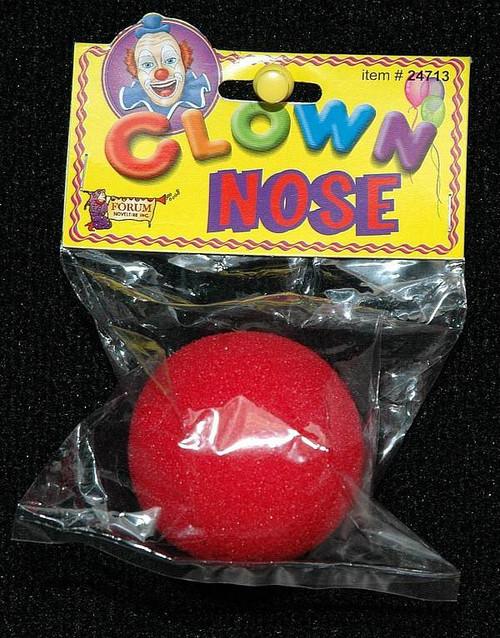 Nez Clown rouge Mousse