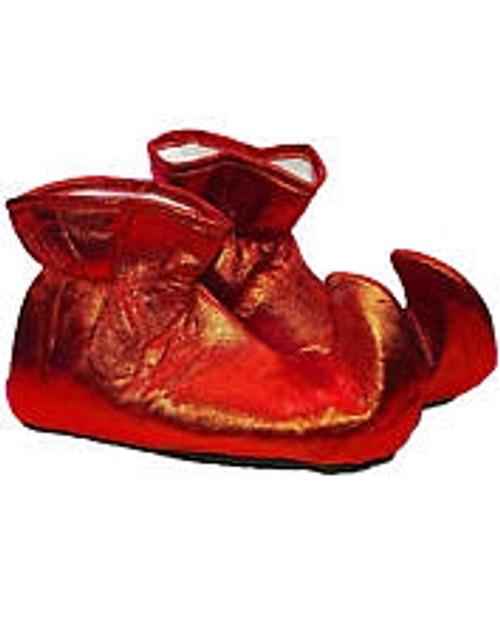 Tissu Rouge Chaussures Elf