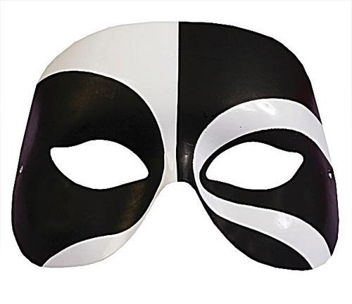 Masque Voodoo Noir et blanc