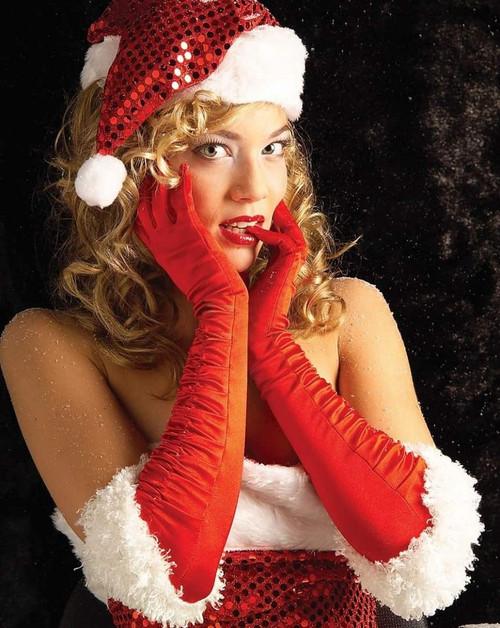 Gants de Miss Père Noël Sexy