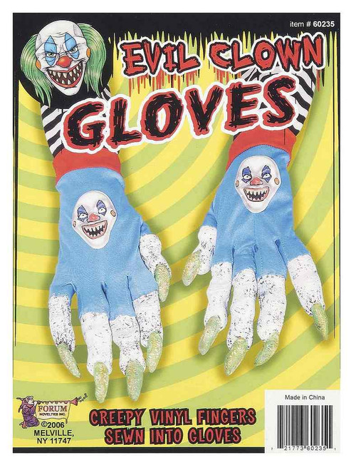 Gants du Méchant Clown