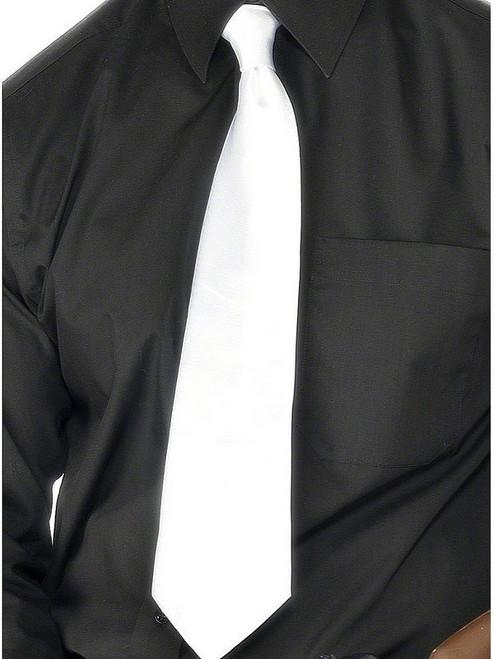 Gangster White Tie