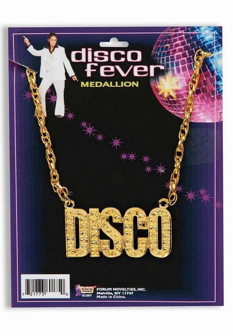 """70 Gold Collier """"Disco"""""""