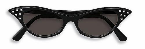 Strass 50 lunettes de soleil noir