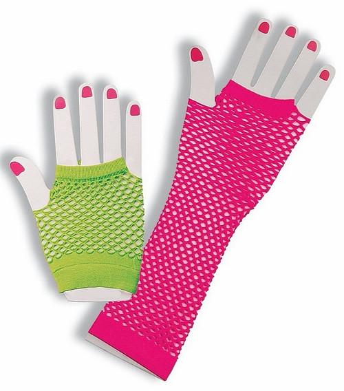 Fingerless Résille Ensemble gants
