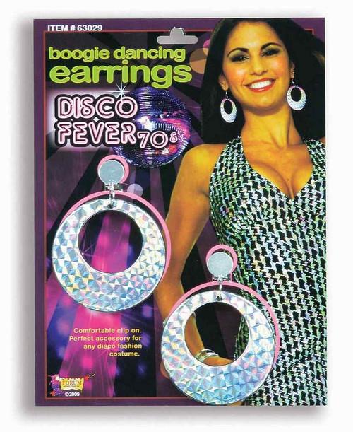 Boucles d'oreilles de danse Disco Boogie