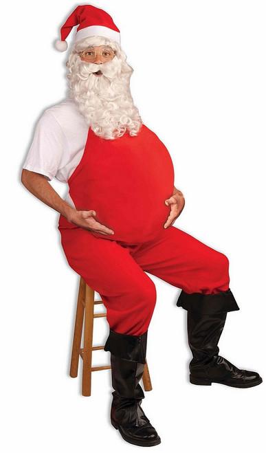 Rembourrage du Ventre du Père Noel