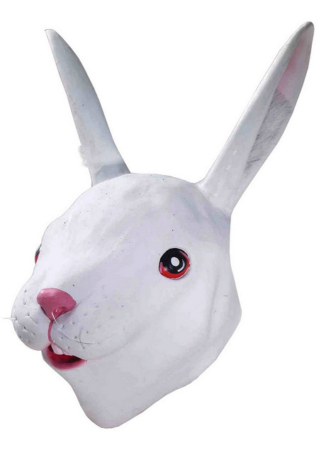 Masque en latex Rabbit Deluxe