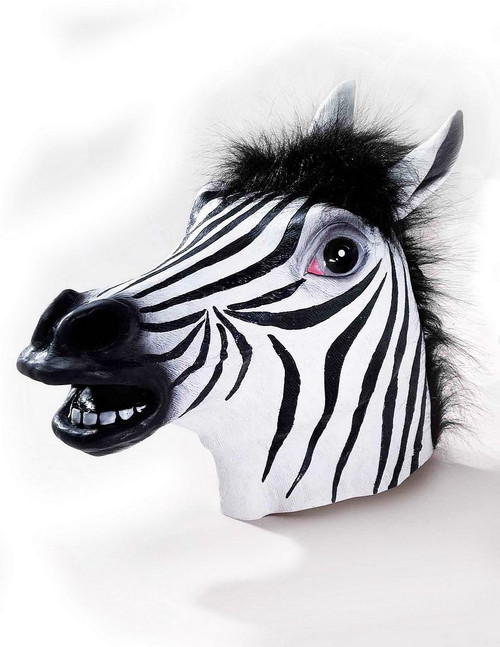 Masque de luxe Zebra Latex