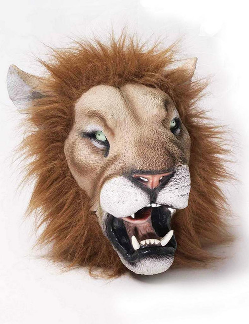 Masque Latex Deluxe Lion