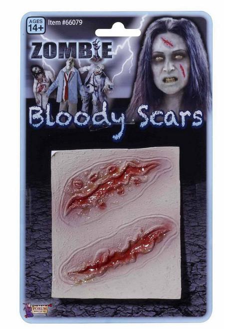 Longues Cicatrices Sanglantes de Zombie