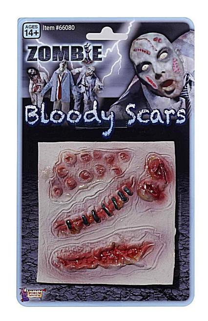 3 Cicatrices Sanglantes de Zombie