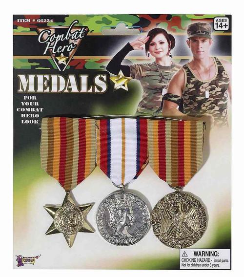 Médailles d'Héro de Combat