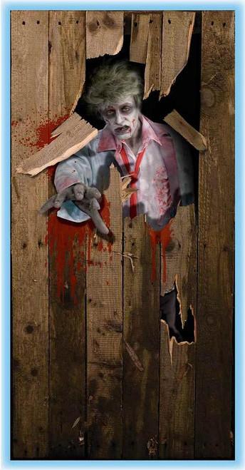 Couverture de porte Zombie