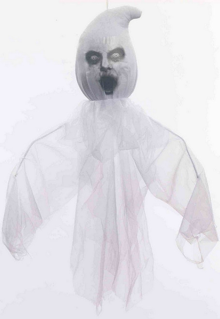 """Grand Ghost Hanging Décor effrayant 28"""""""