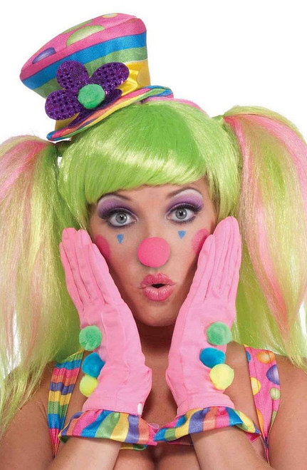 Cirque Rose Bonbon nez de clown