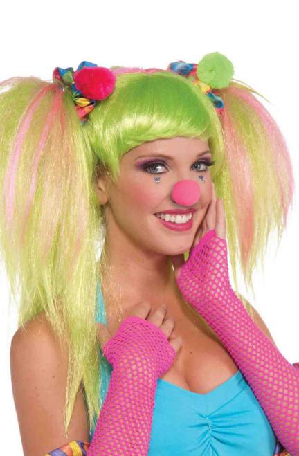 Cirque Clown cheveux Chouchous