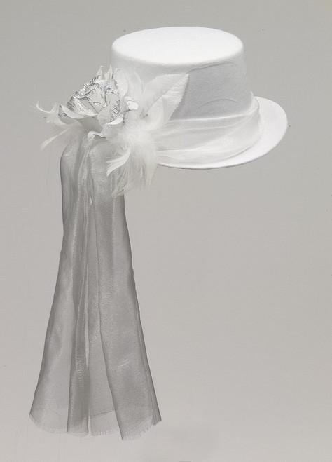 Fantomatique Rose Top Hat Blanc