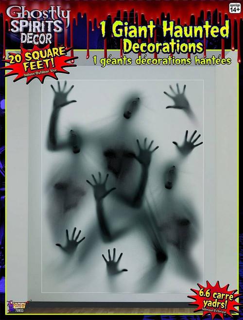 Décoration Murale Fantomatique Géante