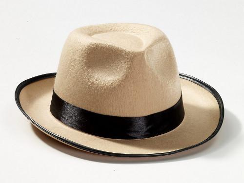 20 Beige Fedora Hat