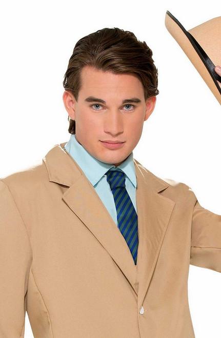 Rayures cravate Vert / Bleu