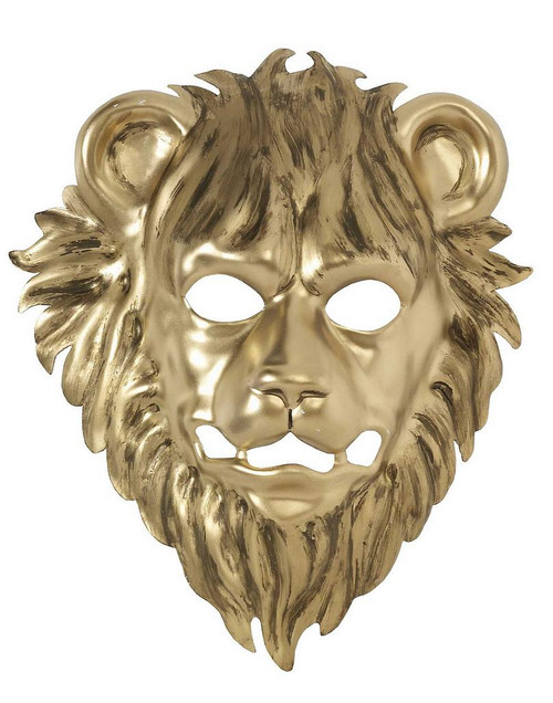 Masque Lion d'or