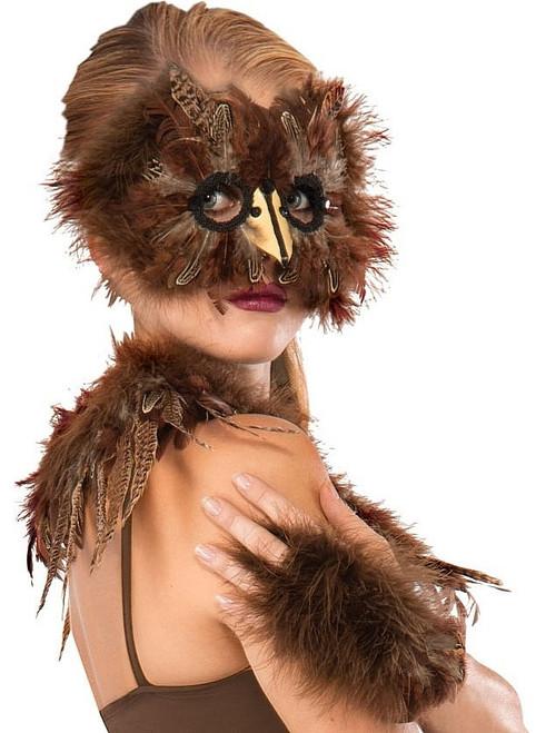 Masque de plumes exotiques
