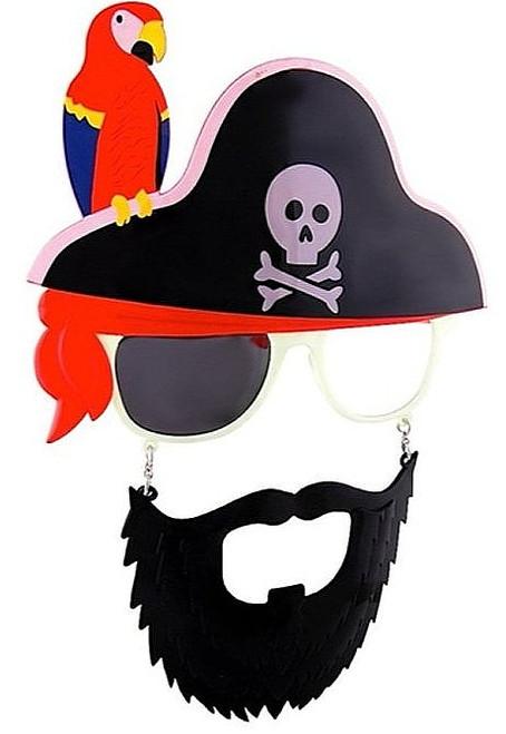 Lunettes de pirate avec Stach