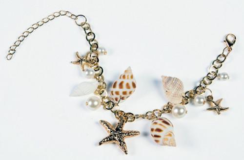 Bracelet sirène Coquilles