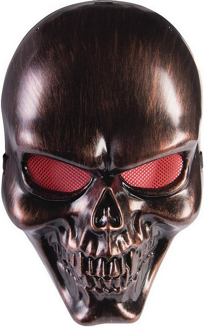 Masque Bronze Skull