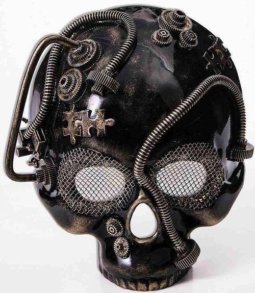 Or crâne Masque Steampunk