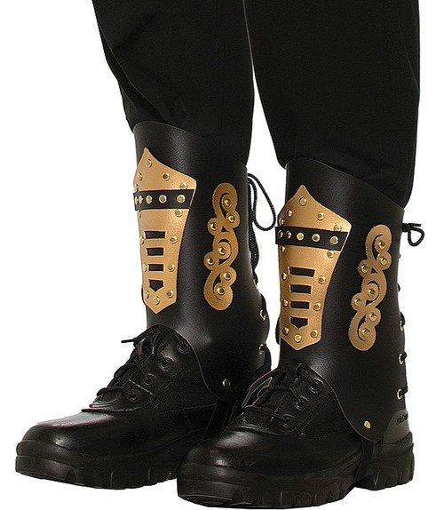 Steampunk Boot Tops Brown