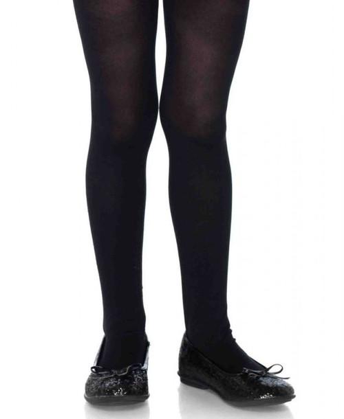 Collant Opaque Noir pour filles