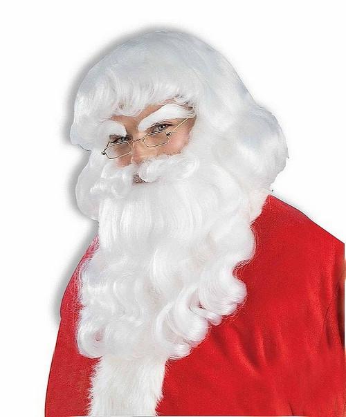 Ensemble Barbe et Perruque du Père Noel