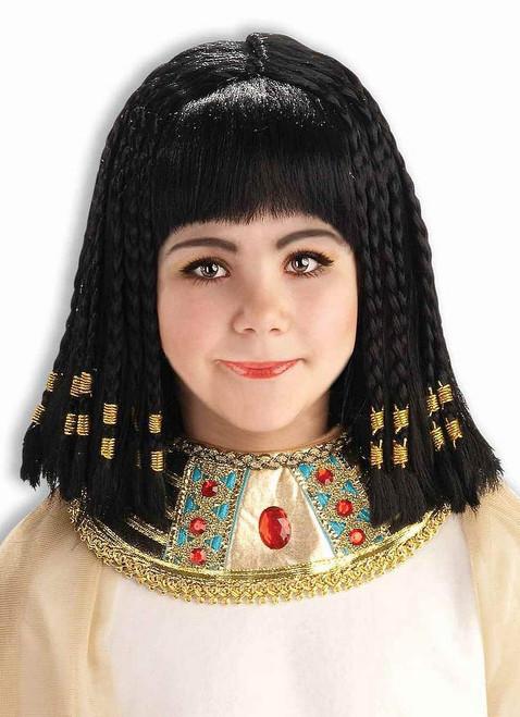 Perruque de la Reine du Nil pour Enfants