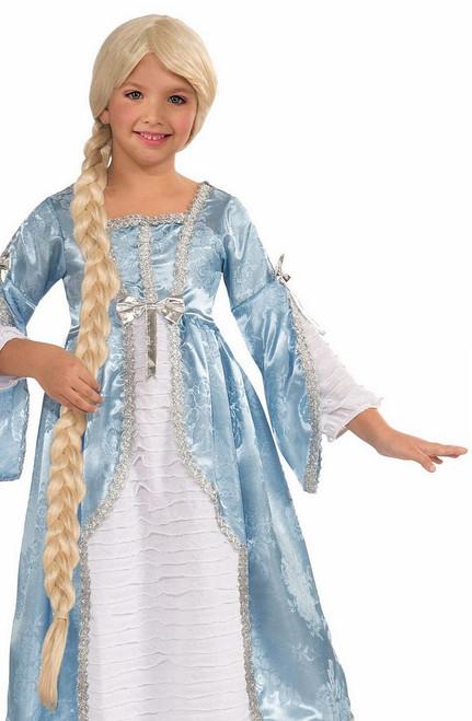 Raiponce Princesse enfant perruque